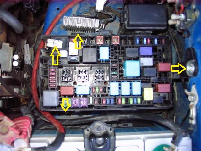 Fuse Box Toyota Fj Wiring Diagrams Schematics