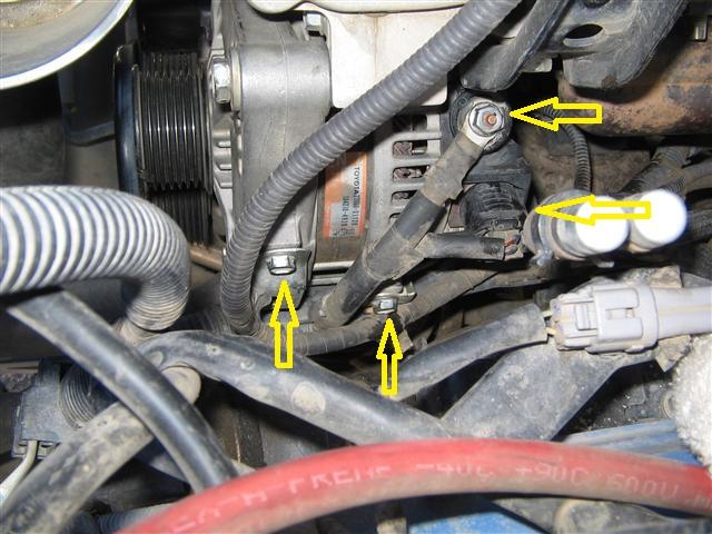 Land Cruiser Alternator Wiring Diagram : Toyota landcruiser alternator wiring diagram honda civic