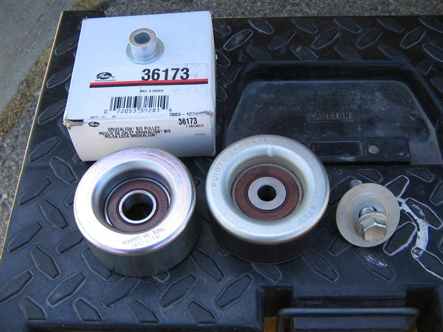 Pulley Tensioner Noise : Idler pulley bearing failure what to do toyota fj